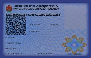 Carnet de conducir Córdoba